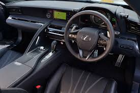 lexus lc interior lexus lc coupe carbuyer