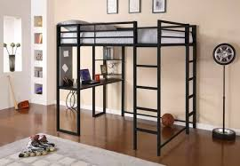 Bunk Bed With Desk Ikea Bedroom Stunning How To Build A Loft Bed With Desk Underneath