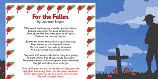 remembrance day for the fallen poem sheet a4 remembrance