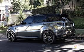 chrome land rover 2015 cec wheels tuning cars suv range rover sport chrome vinyl