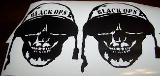 jeep wave sticker black ops call of duty jeep wrangler hood decal set