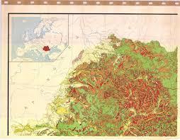 Map Of Romania Republica Socialista Romania Harta Eroziunii Solurilor Soil