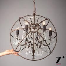 Buy Chandelier Crystals Attractive Sphere Chandelier With Crystals Online Buy Wholesale