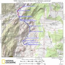 National Geographic Topo Maps Edmaiers Secret Usa Hike Usa Wanderung Mit Gps Daten