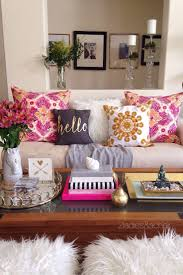 Living Room Decoration Idea by Living Room Pillows Ideas 10 Gorgeous Neutral Living Rooms Pink