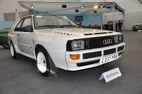 first audi quattro audi quattro u20ac395 000 record at bonhams u0027 goodwood sale gtspirit