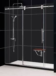 Shower Frameless Glass Doors by Dreamline Enigma 56 To 60