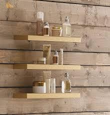 Wood Bathroom Etagere Wall Mounted Shelf Contemporary Solid Wood Bathroom Eban