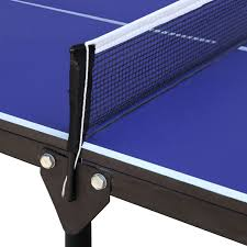 portable ping pong table hathaway crossover 60 portable table tennis table walmart canada