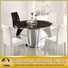Dining Table Marble Top Round Marble Dining Table Set Round Marble Dining Table Set