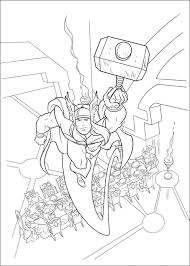 thor coloring pages coloring pages thor free