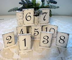 table numbers for wedding wedding or reception table numbers self standing table num flickr