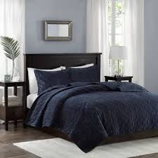 Navy Quilted Coverlet Buy Navy Quilt For Full Bed From Bed Bath U0026 Beyond