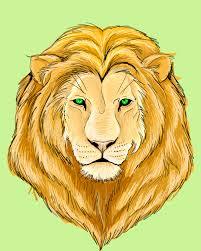 lion face picture clip art library