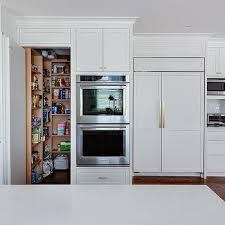 Hide Microwave In Cabinet Hidden Walk In Pantry Design Ideas