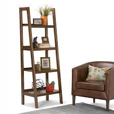 Ladder Style Bookcase by Amazon Com Simpli Home Sawhorse Ladder Shelf Bookcase Medium