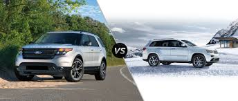 Ford Explorer Towing Capacity - 2016 jeep grand cherokee v 2016 ford explorer