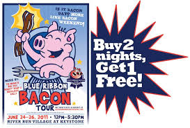 bacon ribbon the blue ribbon bacon tour special keystone vacation rentals by