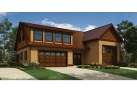 eplans contemporary modern house plan u2013 rv garage with privately