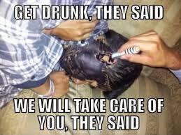 imagenes graciosas de amigos borrachos 15 borrachos con la cara pintada que te harán reconsiderar tomar