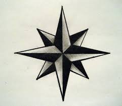 drawn stars nautical pencil and in color drawn stars nautical