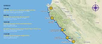 Big Sur Map Event Guide Hearst Castle