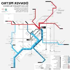 denver light rail hours denver fastracks and frequent bus map denver rtd light rail