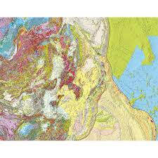 Russia And Central Asia Map by International Geological Map Of Asia At 1 5 M Igma Ccgm Cgmw