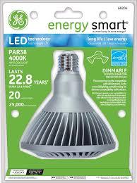 Exterior Led Flood Light Bulbs by Ge Lighting 68204 Energy Smart Led 20 Watt 75 Watt Replacement