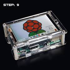 osoyoo clear case with raspberry pi 3 5 u2033 lcd installation guide