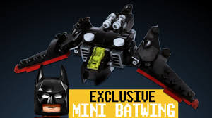lego batman movie the mini batwing 30524 promo polybag video