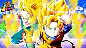 lr trunks u0026 goten legendary awakening unit awesome