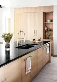 cuisine blanche sol noir cuisine bois et noir hopehousebabieshome info