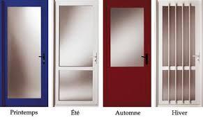 porte de bureau vitr porte d entree 4 saisons