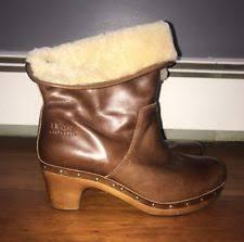 s ugg australia brown emalie boots ugg australia med 1 in to 2 3 4 in s us size 10 ebay