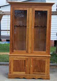 Free Woodworking Plans For Corner Cabinets by Basic Gun Cabinet Plans Build Pinterest Gun Cabinet Plans
