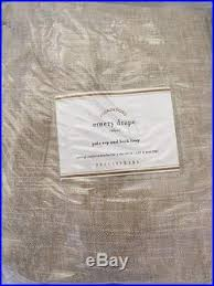 Emery Drapes 2 Pottery Barn Emery Drape Pole Pocket Curtain Panels 50 84 Nwt