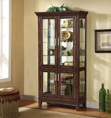 cherry curio cabinets cheap jaxon cherry curio cabinet shop for affordable home furniture