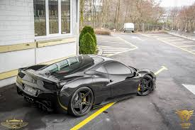 ferrari 458 custom pure black ferrari 458 italia by luxury custom pic 11 sssupersports