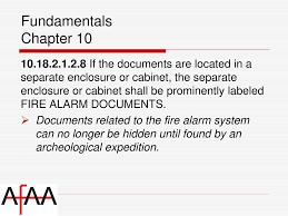 fire alarm document cabinet nfpa national fire alarm signaling code ppt download