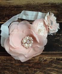 baby hair accessories chiffon flower headband baby hair accessories fabric