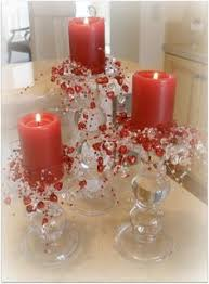 valentines table centerpieces chocolate fondue s day party ideas candle decorations