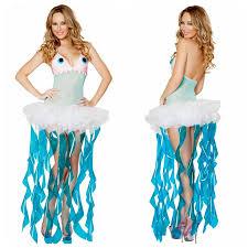 jellyfish dress costumes marine women