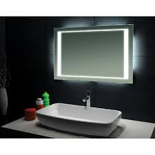 Designer Bathroom Mirrors Modern Bathroom Mirrors With Lights Lighting Lighted Vanity Mirror