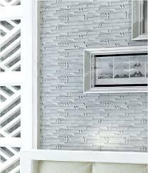 Gray Glass Tile Backsplash by Glass Mosaic Tiles Interlocking Tile Sheets Metal Coating Tile Yg001