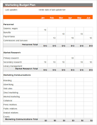 It Budget Template Excel Budget Plan Template Marketing Budget Plan Template Excel