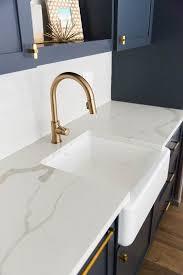 beautiful granite countertops for this trendy kitchen calacatta