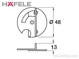 hafele table top swivel fitting hafele 642 49 243 table top swivel connector ac sissling