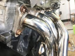 active autowerke bmw n52 performance exhaust header 128i 328i