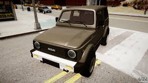 suzuki samurai v1 0 for gta 4